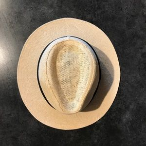 Accessories - Straw Hat with Black Band